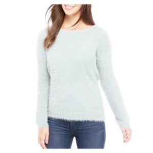 NEW Ellen Tracy Downtown Glam eyelash sweater